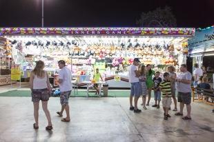 All'interno del Luna Park di Ayia Napa. La cittadina, situata nella Cipro greca, fino a non molti anni fa era totalmente sconosciuta al turismo di massa mentre oggi è una delle mete più visitate e turistiche di Cipro | © Michele Cirillo