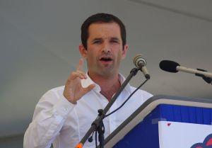 Il candidato socialista Benoti Hamon, fonte immagine: Wikipedia