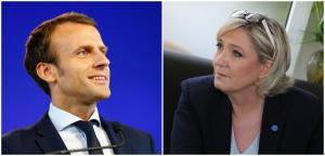 Macron Le pen