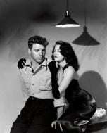Burt Lancaster e Ava Gardner fotografati da Ray Jones per I Gangster [The Killers], 1946. Universal Pictures © John Kobal Foundation