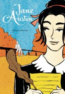 Un ritratto inedito di Jane Austen disegnato da Manuela Santoni.